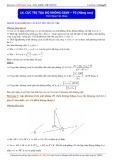 Luyện thi Đại học môn Toán: Cực trị tọa độ không gian (Phần 3 Nâng cao) - Thầy Đặng Việt Hùng