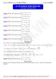 Luyện thi Đại học môn Toán: Hệ phương trình đồng bậc - Thầy Đặng Việt Hùng