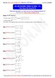 Toán học lớp 10: Hệ phương trình cơ bản (Phần 2) - Thầy Đặng Việt Hùng
