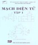 Giáo trình Mạch điện tử (Tập 1): Phần 2 - ThS. Nguyễn Tấn Phước