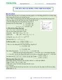 Luyện thi Đại học Vật lý - Chủ đề 4: Độ lệch pha-Tổng hợp dao động