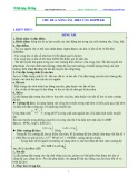 Luyện thi Đại học Vật lý (Sóng cơ học) - Chủ đề 4: Sóng âm-hiệu ứng Doppler