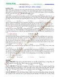 Luyện thi Đại học Vật lý (Sóng cơ học) - Chủ đề 5: Ôn tập Sóng cơ học