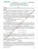 Luyện thi Đại học Vật lý: Ôn tập tổng hợp sóng cơ học