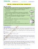 Luyện thi Đại học Vật lý - Chủ đề 2: Momen quán tính-Momen lực