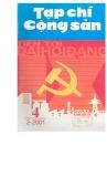 Tạp chí Cộng sản Số 4 (2-2001)