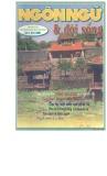 Tạp chí Ngôn ngữ & Đời sống Số 5 (67) – 2001
