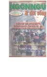 Tạp chí Ngôn ngữ & Đời sống Số 10 (72) – 2001