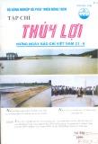 Tạp chí Thủy lợi Số 328/1999 - Mừng Ngày Báo chí Việt Nam 21 - 6
