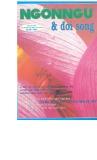 Tạp chí Ngôn ngữ & Đời sống Số 5 (91) - 2003