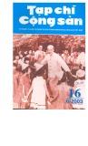 Tạp chí Cộng sản Số 16 (6-2003)