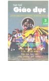Tạp chí Giáo dục - Số 3 (5/2001)