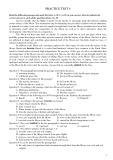 Đại học môn Tiếng Anh: Practice test 6