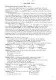 Ôn thi Đại học môn Tiếng Anh: Practice test 5