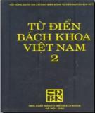 Ebook Từ điển bách khoa Việt Nam (Tập 2): Phần 1 - NXB Từ điển Bách khoa