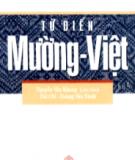 Ebook Từ điển Mường - Việt: Phần 2 - Nguyễn Văn Khang (chủ biên)