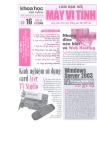 Tạp chí Khoa học phổ thông: Làm bạn với máy vi tính - Số 16