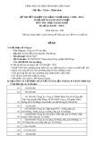 Đề thi thực hành Kế toán doanh nghiệp năm 2012 (Mã đề TH1)