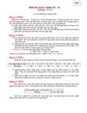 Đề thi Xác suất thống kê (Đề 1)