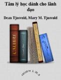 Ebook Tâm lý học dành cho lãnh đạo - Dean Tjosvold