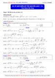 Luyện thi Đại học môn Toán: Phương pháp đổi biến số tìm nguyên hàm (Phần 1) - Thầy Đặng Việt Hùng