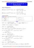 Luyện thi Đại học môn Toán: Phương pháp đổi biến số tìm nguyên hàm (Phần 2) - Thầy Đặng Việt Hùng
