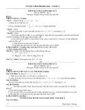 Tuyển tập bộ đề thi học kì I Toán 12