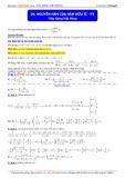 Luyện thi Đại học môn Toán: Nguyên hàm của hàm hữu tỉ (Phần 3) - Thầy Đặng Việt Hùng