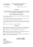 Quyết định 3816/QĐ-TCHQ năm 2014