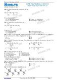 Hóa học lớp 11: Danh pháp hợp chất hữu cơ