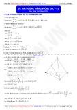 Toán học lớp 11: Hai đường thẳng vuông góc (Phần 1) - Thầy Đặng Việt Hùng