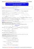 Toán học lớp 10: Phương pháp đặt ẩn phụ giải hệ phương trình (Phần 1) - Thầy Đặng Việt Hùng
