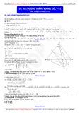 Toán học lớp 11: Hai đường thẳng vuông góc (Phần 2) - Thầy Đặng Việt Hùng
