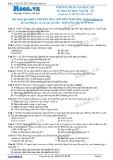 Chuyên đề LTĐH môn Sinh học: Phương pháp giải bài tập di truyền học người (phần 3)