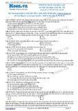 Chuyên đề LTĐH môn Sinh học: Phương pháp giải bài tập di truyền học người (phần 4)