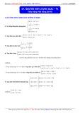 Luyện thi ĐH môn Toán: Nguyên hàm lượng giác - Phần 1