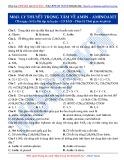Luyện thi ĐH môn Hóa học 2015: Cơ bản-Lý thuyết trọng tâm về Amin-Aminoaxit (Phần 2)