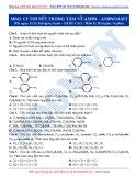 Luyện thi ĐH môn Hóa học 2015: Nâng cao-Lý thuyết trọng tâm về Amin-Aminoaxit (Phần 2)