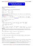 Luyện thi ĐH môn Toán: Nguyên hàm lượng giác (Phần 4) - Thầy Đặng Việt Hùng