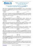 Chuyên đề LTĐH môn Vật lý: UL trong bài toán cực trị của mạch RLC khi F biến thiên