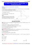 Toán học lớp 11: Đường thẳng vuông góc với mặt phẳng (Phần 2) - Thầy Đặng Việt Hùng