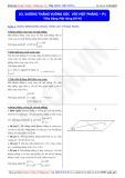 Toán học lớp 11: Đường thẳng vuông góc với mặt phẳng (Phần 1) - Thầy Đặng Việt Hùng