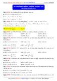Toán học lớp 10: Phương trình đường thẳng (Phần 2) - Thầy Đặng Việt Hùng