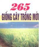 Ebook 265 Giống cây trồng mới: Phần 1 - PGS.TS. Trương Đích