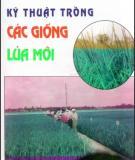 Ebook Kỹ thuật trồng các giống lúa mới: Phần 1 - PGS.TS. Trương Đích