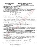 Đề thi thử Đại học lần 2 môn Toán khối B, D năm 2013 - THPT chuyên Hà Tĩnh