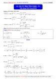 Luyện thi ĐH môn Toán: Các phương pháp tính tích phân (Phần 1) - Thầy Đặng Việt Hùng