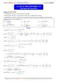 Luyện thi ĐH môn Toán: Các phương pháp tính tích phân (Phần 2) - Thầy Đặng Việt Hùng