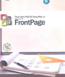 Sổ tay thiết kế trang Web với Microsoft Frontpage: Phần 1