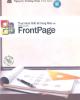 Sổ tay thiết kế trang Web với Microsoft Frontpage: Phần 2